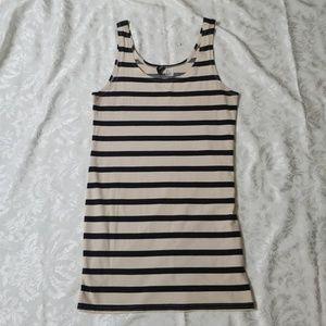 Cute H&M Striped Tank Top